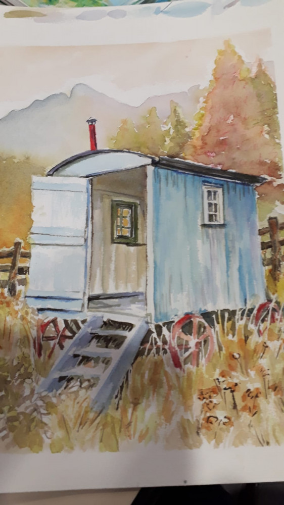 Peinture - S728 - Aquarelle, dessin, encre - Tous niveaux