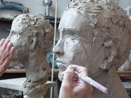 Sculpture - S743 - Sculpture - Initié