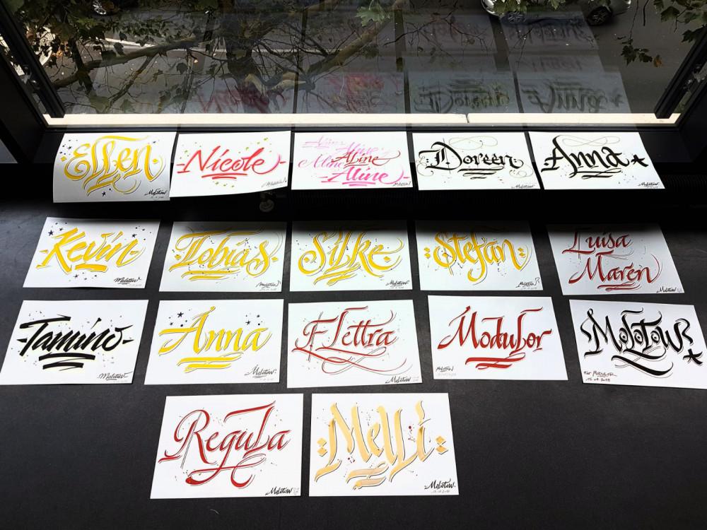 Calligraphie - S751 - calligraphie latine - Tous niveaux