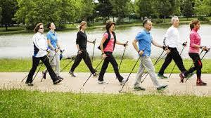 Activités physiques en Extérieur - S907 - Marche nordique*-sportive marcheur sportif/ rapide - Tous niveaux