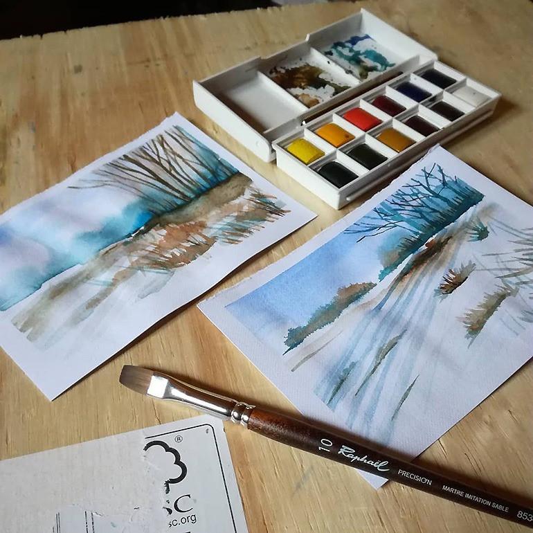 Peinture - N208 - Aquarelle - Tous niveaux